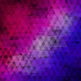 Abstract geometric background  consisting of overlapping triangular elements Royalty Free Stock Images