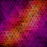 Abstract geometric background  consisting of overlapping triangular elements Royalty Free Stock Photos
