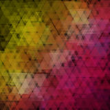 Abstract geometric background  consisting of overlapping triangular elements. Royalty Free Stock Photography