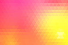 Abstract geometric background. Consisting of vibrant bright colored triangles vector illustration