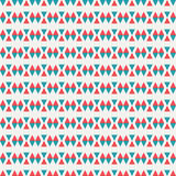 Abstract geometric background created of heart triangle. Colorful pattern. Royalty Free Stock Image