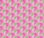 Abstract geometric background with cubes Stock Image