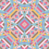 Abstract geometric background, cubism, futurism, pastel. Abstract geometric background pastel color, vector illustration Royalty Free Stock Photography