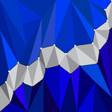 Abstract  geometric  background. Abstract 3D geometric colorful background from triangles. Vector illustration. Eps 10 Stock Photography