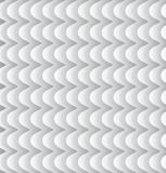 Abstract geometric background. Abstract 3d white geometric background. White seamless texture with shadow. Simple clean white background texture. 3D Vector Royalty Free Stock Photos