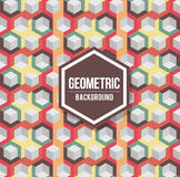 Abstract geometric background for design. Retro pattern Stock Photos