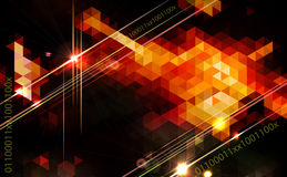 Abstract geometric background Design. Royalty Free Stock Photography