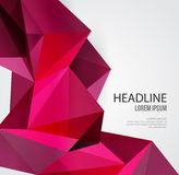 Abstract Geometric Background Design Stock Images