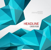Abstract Geometric Background Design Stock Photos