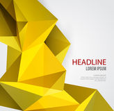 Abstract Geometric Background Design Royalty Free Stock Photography