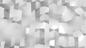 Abstract Geometric Background. Digital backdrop. 3d render Stock Photos
