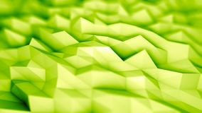 Abstract Geometric Background. Digital low poly backdrop Royalty Free Stock Photo