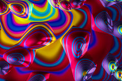 Abstract geometric background - digitally generated image Stock Images