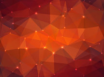 Abstract Geometric Background. EPS 10. Abstract Geometric Background with shines and sparcles. EPS 10 Stock Photography