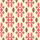 Abstract geometric background in ethnic style. Abstract geometric seamless background in ethnic style Stock Photography