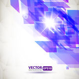 Abstract geometric background with explosion Royalty Free Stock Photography