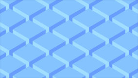Abstract geometric background of geometric cubes. 3d rendering Stock Photo