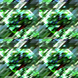 Abstract geometric background. Geometric shapes in different shades of green and blue, white. Vector Royalty Free Stock Image