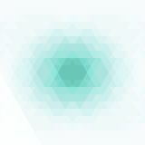 Abstract geometric background. Geometric shapes in green, blue, gray color. Vector Stock Image
