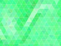 Abstract geometric background with green triangles. Polygon pattern, Vector illustration Royalty Free Illustration