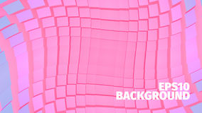 Abstract geometric  background. Grid of boxes. Angular shape. For web or printing Royalty Free Stock Image