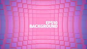 Abstract geometric  background. Grid of boxes. Angular shape. For web or printing Royalty Free Stock Images