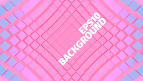 Abstract geometric background. Grid of rhombus. Angular shape. Web banner vector illustration