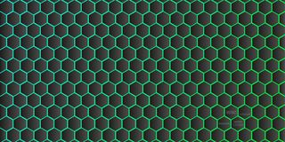 Abstract geometric background from hexagons vector Royalty Free Stock Image