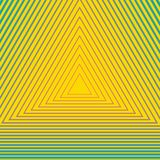 Abstract geometric background. Hypnotism and optical illusion pattern stock illustration