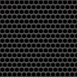 Speaker grille. Vector seamless pattern. Abstract geometric background. Metal grating Stock Photos