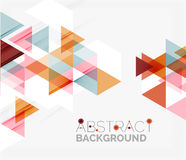 Abstract Geometric Background. Modern Overlapping Stock Photography