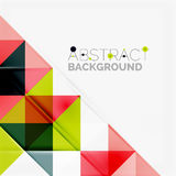 Abstract geometric background. Modern overlapping Stock Images