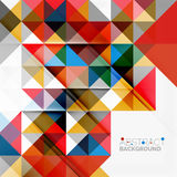 Abstract geometric background. Modern overlapping Stock Photos