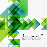 Abstract geometric background. Modern overlapping Royalty Free Stock Photos