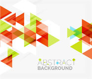 Abstract geometric background. Modern overlapping Stock Photo