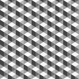Abstract, geometric background, monochrome cube. Use as a fill pattern, backdrop, seamless texture Royalty Free Stock Photo