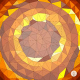 Abstract geometric background. Mosaic. Vector Stock Photo