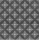 Abstract geometric background. Optical illusions, curves. Seamle Royalty Free Stock Photos