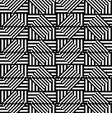 Abstract geometric background. Optical illusions, diamonds. Seam Stock Images