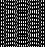 Abstract geometric background. Optical illusions, white diamonds Stock Photo
