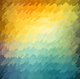Abstract geometric background with orange, blue and yellow color. Summer sunny design. Abstract geometric background with orange, blue and yellow color. Vector Stock Images