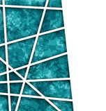 Abstract Geometric Background with Paper Lines Stock Images
