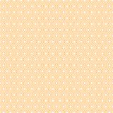 An abstract geometric background or pattern that is made up of hexagons of different sizes. Modern texture in orange Royalty Free Stock Photography