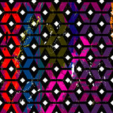 Abstract geometric background pattern Stock Image