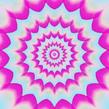 Abstract geometric background. pink star illustration Royalty Free Stock Image