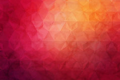 Abstract geometric background with polygons. Info graphics composition with geometric shapes.Retro label design. Stock Image