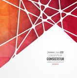 Abstract geometric background with polygons. Info graphics composition with geometric shapes. Royalty Free Stock Photos