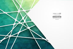 Abstract geometric background with polygons. Info graphics composition with geometric shapes. Royalty Free Stock Image
