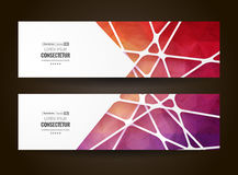 Abstract geometric background with polygons. Info graphics composition with geometric shapes. Royalty Free Stock Images