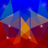 Abstract geometric background. With polygons. Vector background Royalty Free Stock Image